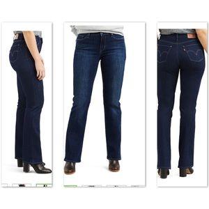 LEVI'S - Curvy bootcut jeans